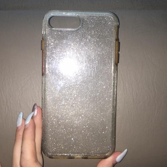premium selection 5dbf4 6c520 IPhone 7 Plus Clear Sparkle Otterbox Case